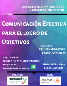 CURSO_Comunicación Efectiva para el logro de Objetivos_corto